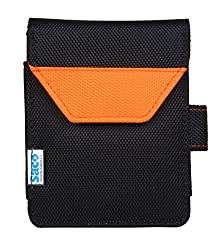 Saco Plug and Play External Hard Disk Hard Case Pouch Cover Bag for Verbatim Store 'n' Go USB 3.0 Portable 2.5 Inch 500 GB external hard drive (Orange)