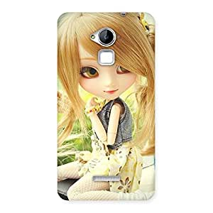 Impressive Cute Smiling Doll Multicolor Back Case Cover for Coolpad Note 3