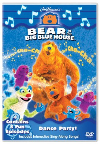 Bear In The Big Blue House  Dance Party [DVD]