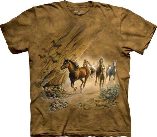 The Mountain Sacred Passage Horse Pony Short Sleeve Tee T-Shirt Child S front-980736
