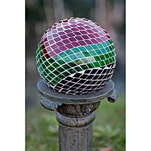 Echo Valley 8189 Mosaic Earth Glass Gazing Globe, 10-Inch (Discontinued by Manufacturer)