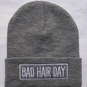 bad hair day beanie hats and caps for men women sports hip