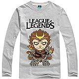 [League of Legends] キャラクターTシャツシリーズ ロング Wukong 3カラー XS~XXL [CC-LOL-0116]