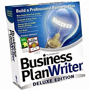 Business Plan Writer Deluxe 2004 (2 cds)