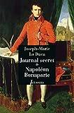 Journal secret de Napol�on Bonaparte