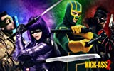 Kick-Ass 2 Movie Poster Photo Limited Print Aaron Taylor-Johnson Chloë Grace Moretz Jim Carrey Christopher Mintz-Plasse Sexy Celebrity Size 11x17 #1