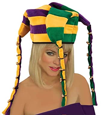 Forum Mardi Gras Costume Party Accessory, Multi-Colored, One Size