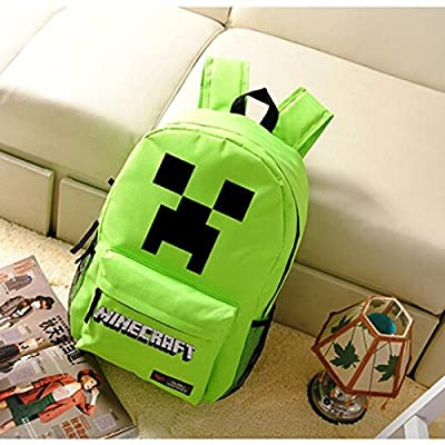 Minecraft Creeper Backpack Green 2# by Minecraft