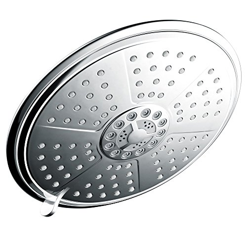 Sale!! HotelSpa® Resort Collection Ultra-Luxury 7-Setting 7 Inch Rainfall Shower-Head; Angle Adjust...