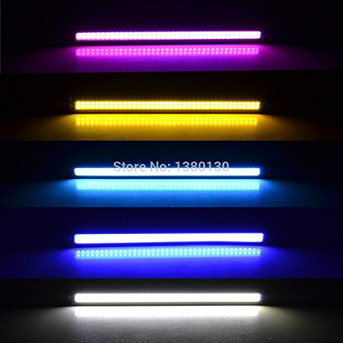 A Pair of Waterproof LED Day Time Running (DRL) Lights, 17 cm