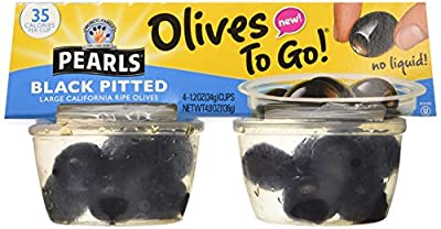 Olives To Go (Pack of 16 Cups), 19.2 oz from pearls