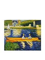 Arte Dal Mondo Pintura al Óleo sobre Lienzo Renoir Rive Della Senna
