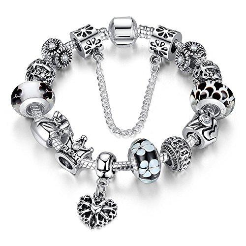 a-ter-armband-charms-blumen-glasperlen-herz-armbandanhanger-damen-geschenk-20cm-jw-b110-schwarz