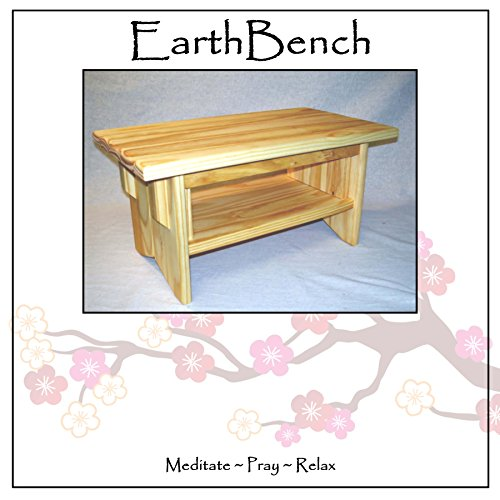 Meditation Altars For Sale: Deluxe! Small ALTAR W/ Shelf: Solid Pine Personal
