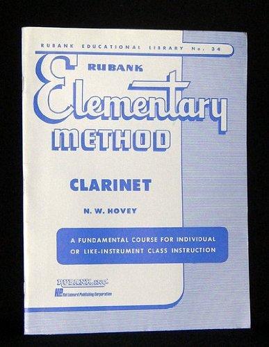 Rubank Elementary Method, Clarinet, Rubank Educational...