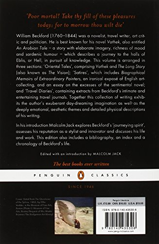 Vathek and Other Stories: A William Beckford Reader (Penguin Classics)