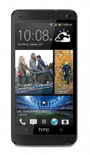 Htc One (M7) 4Mp, 16Gb, 3G Quad-Core Factory Unlocked World Mobile Phone - Black