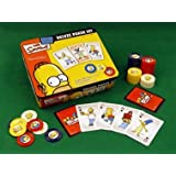 Simpsons Deluxe Poker Set by Flair