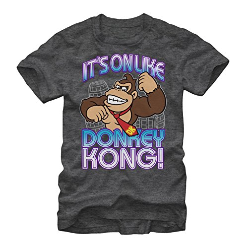 Nintendo Donkey Kong It's On Mens L Graphic T Shirt - Fifth Sun