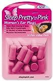 Sleep Pretty in Pink Women's Ear Plugs, 14 Pairs
