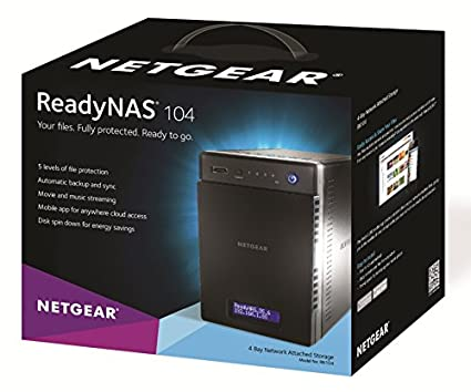 Netgear-RN10400-ReadyNAS-4-Bay-Network-Hard-Disk