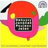 Violin Sonatas:Debussy/Janacek / Poulenc / Jezek