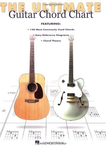Ultimate Guitar Chord Chart by Hal Leonard Corp. (Mar 1 1999) (Ultimate Guitar Chord Chart compare prices)