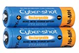 Sony 2 AA-size NIMH Cyber-shot Batteries