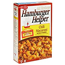 Hamburger Helper Chili Macaroni, 6.9-Ounce Boxes (Pack of 12)