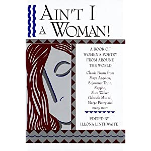 """ain t i a woman Reporters published different transcripts of the speech where she used the rhetorical question, """"ain't i a woman"""" to point out the discrimination she experienced as a black woman."""