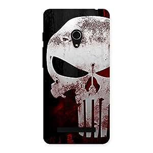 Bleed Red Skull Back Case Cover for Zenfone 5