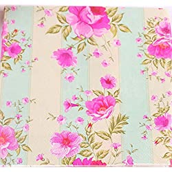Floral Paper Napkins Flower Design Vintage Luncheo Napkins Serviettes, 40 Count(2packs) for Wedding, Dinner Party