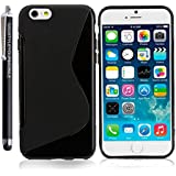FOR APPLE IPHONE 5 5S SILICONE GEL PROTECTION SKIN CASE COVER + STYLUS