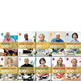 Various My Kitchen Table, 100 Cookery Collection 10 Books Set,(100 Meals in Minutes, 100 Family Meals, 100 Weeknight curries, 100 Sweet treats and puds, 100 fish & seafood recipes, 100 cakes and bakes, 100 essential curries, 100 pasta recipes)