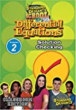 echange, troc Sds Differential Equations Module 2: Solution Chec [Import USA Zone 1]