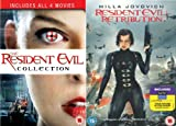 Resident Evil Movies Complete DVD Collection - Includes All 5 Movies [5 Discs] Boxset: Resident Evil / Apocalyse / Extinction / Afterlife / Retribution- Extra Features