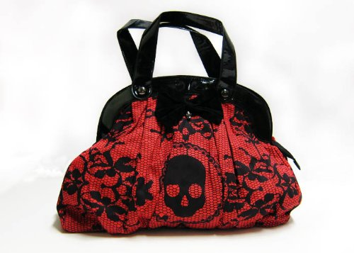 Iron Fist Lacey Days Handbag Red