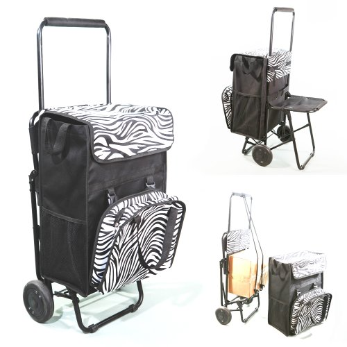 sacs de courses et cabas chariot de courses caddy 50l poche isotherme diable si ge. Black Bedroom Furniture Sets. Home Design Ideas