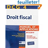 DCG 4 - Droit fiscal 2013/2014 - 7e édition - Manuel et Applications