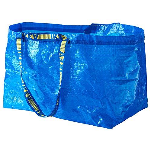 [イケア]IKEA フラクタ FRAKTA キャリーバッグ L ブルー (2...