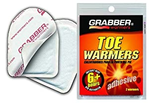 Grabber Warmers TWES Adhesive 6-Hour Toe Warmer by Grabber