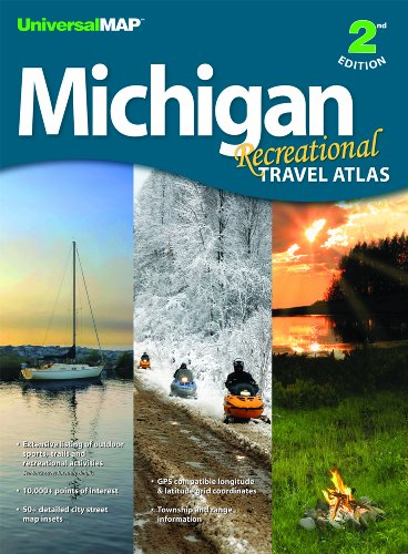 Michigan Recreational Travel Atlas -2nd