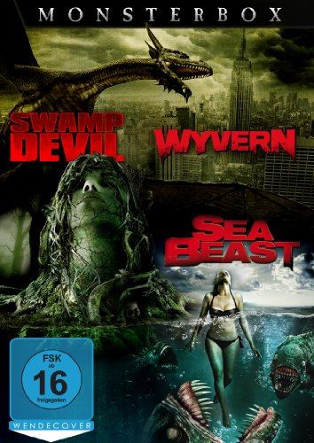 Monsterbox: Wyvern - Sea Beast - Swamp Devil [3 DVDs]
