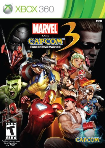 Marvel vs. Capcom 3: Fate of Two Worlds - Xbox 360 (Marvel Games For Xbox 360 compare prices)