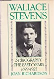 img - for Wallace Stevens: The Early Years, 1879-1923 book / textbook / text book