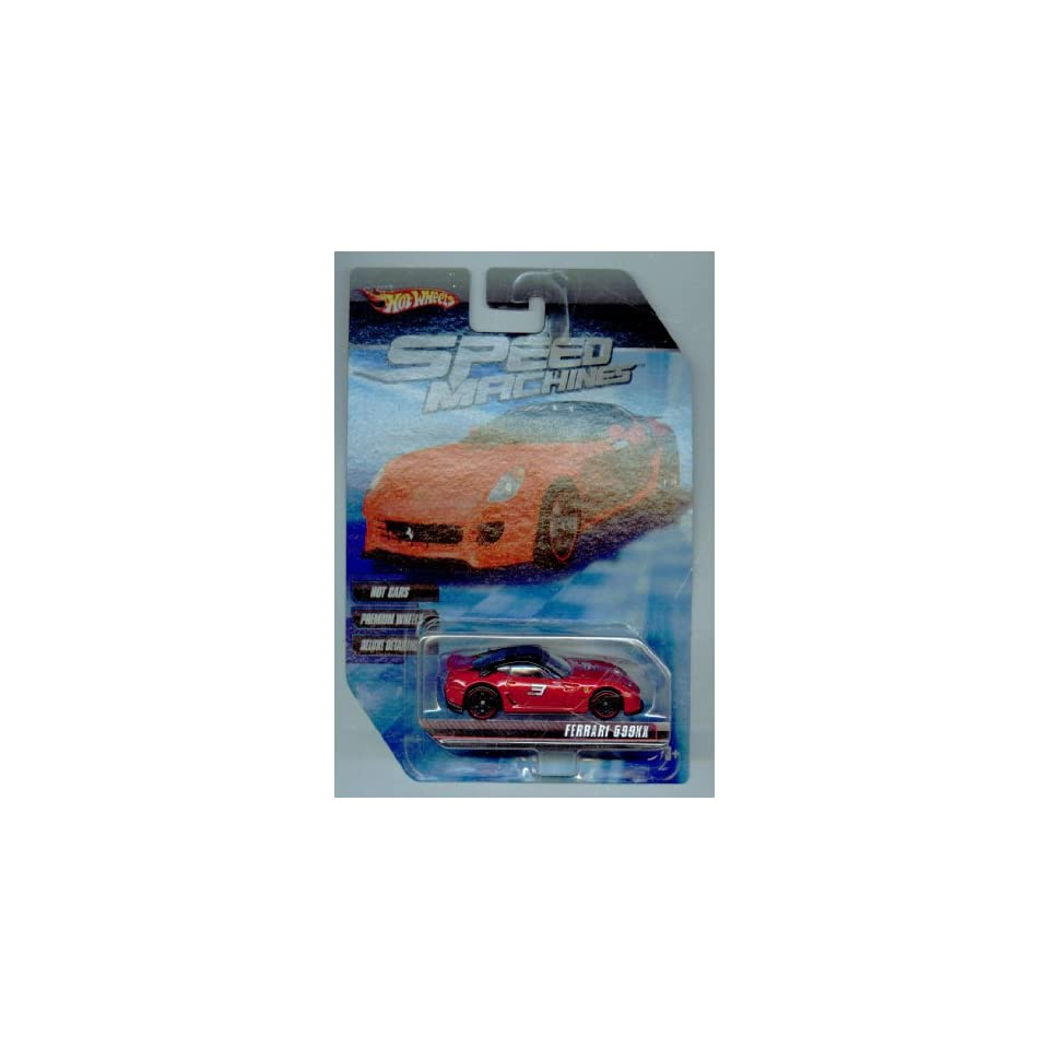 Hot Wheels Speed Machines Ferrari 599XX RED 164 Scale