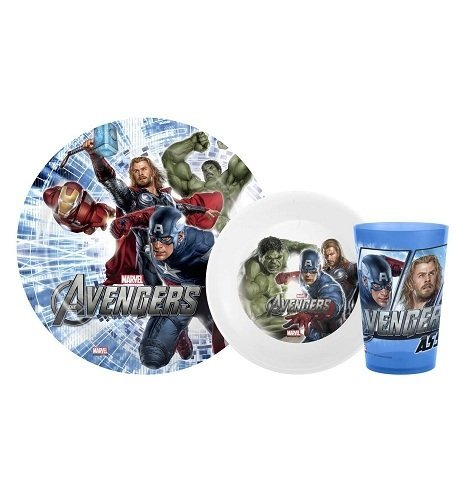 Avengers 3Pc Gift Set (Cup, Bowl, Tumbler)