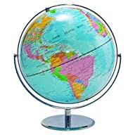 ADVANTUS 12″ Desktop World Globe with…