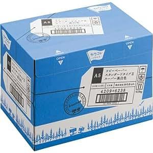 カウネット コピー用紙 タイプ2 スーパー高白色 A5 1箱