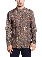 DonDup Camisa Hombre (Multicolor)
